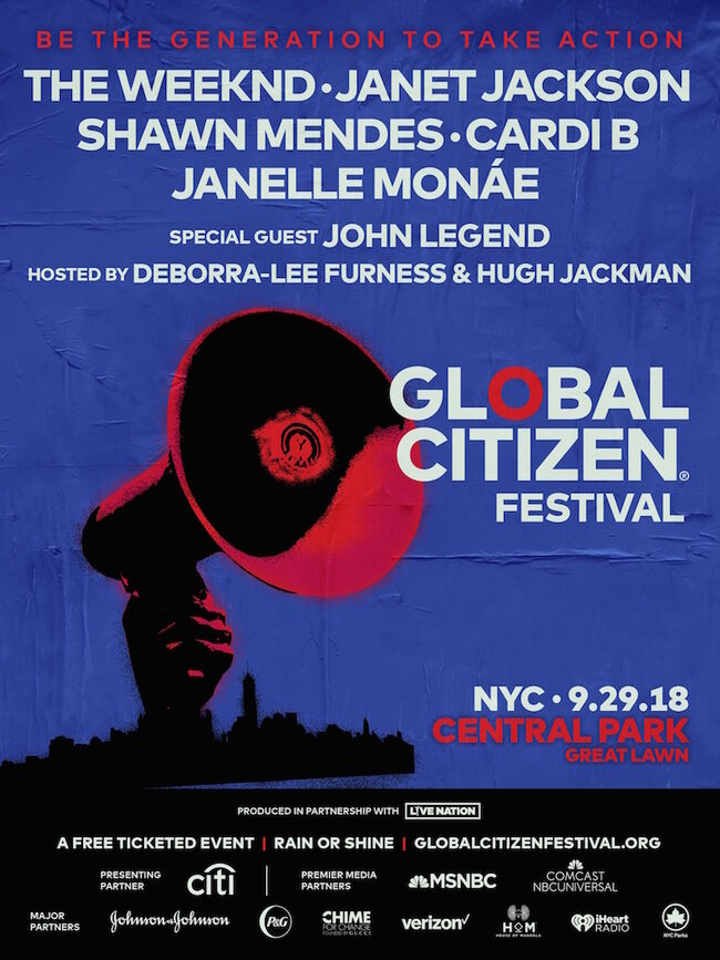 Global Citizen Festival 2018