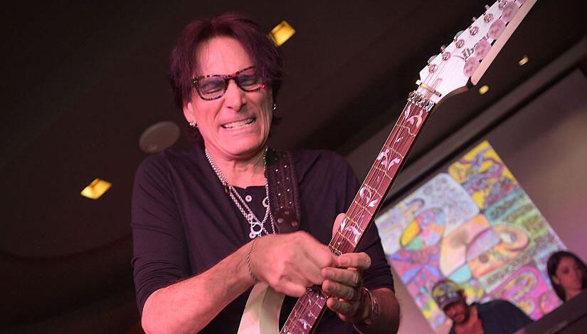 steve vai announces 52 hour 39 jam a thon 39 for charity iheartradio. Black Bedroom Furniture Sets. Home Design Ideas