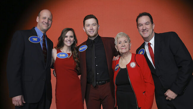 scotty mccreery wins celebrity family feud