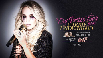 None - Carrie Underwood is coming to the Pinnacle Bank Arena!