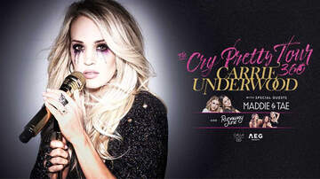 None - Carrie Underwood announces The Cry Pretty Tour 360