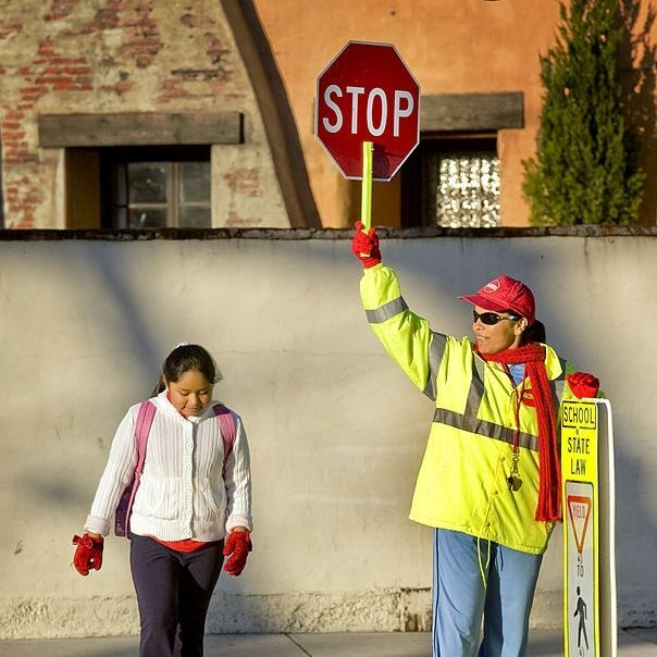 School crossing guard - Getty Images