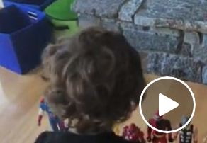 Kerry Collins - 3 Year Old Knows ALL His Superheroes!