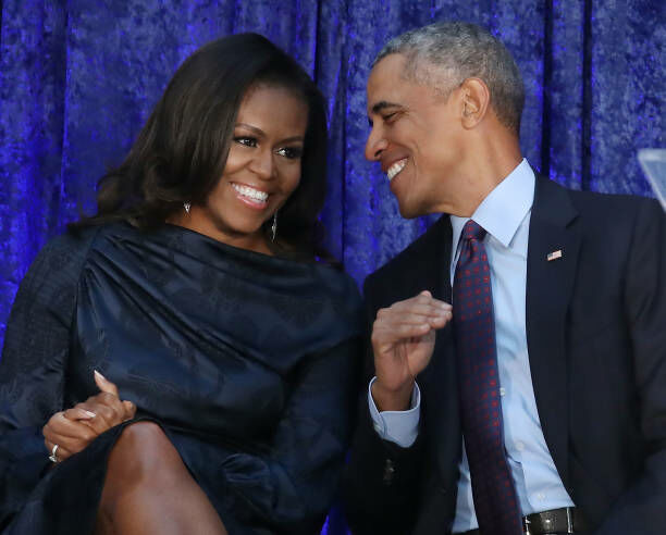 Barack Obama and Michelle Obama - Getty Images