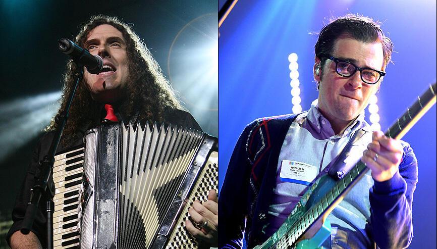 "Watch Weezer Perform ""Africa"" With Weird Al Yankovic on Accordion"