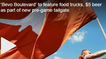 Val Santos - VAL: UT Is Hosting A New Tailgate Before Every Saturday Home Game!