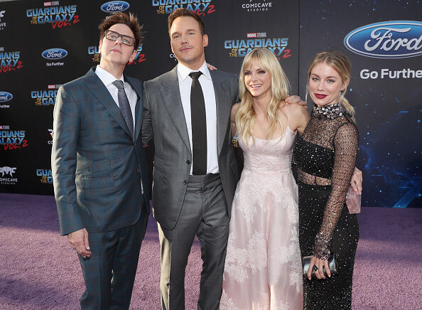 Getty Images (James Gunn, far left)