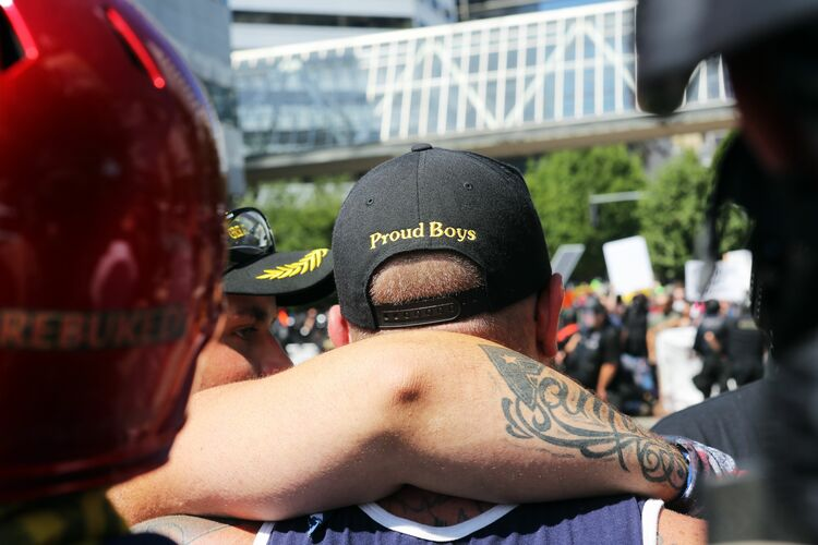 Proud Boys Getty Images