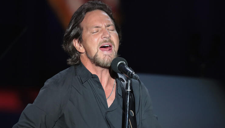 Watch Eddie Vedder Pay Tribute to Teachers With White Stripes Cover
