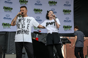 "Bishop Briggs Joins Cold War Kids on Stage for ""So Tied Up"""