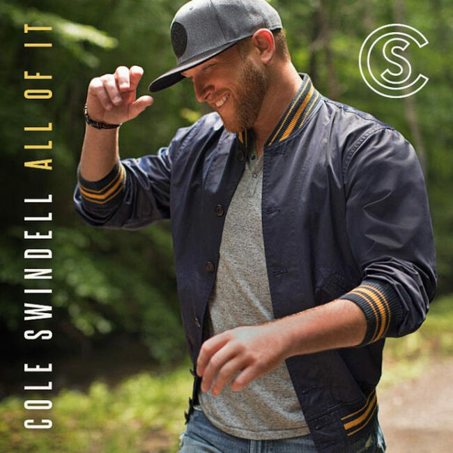 Cole Swindell - 'All of It' Album Cover Art