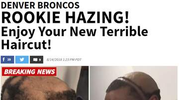 Dr. Taco - VIDEO: Rookie Bronco Haircut Time!