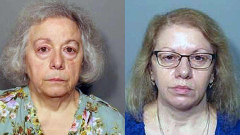 Joanne Pascarelli and Marie Wilson
