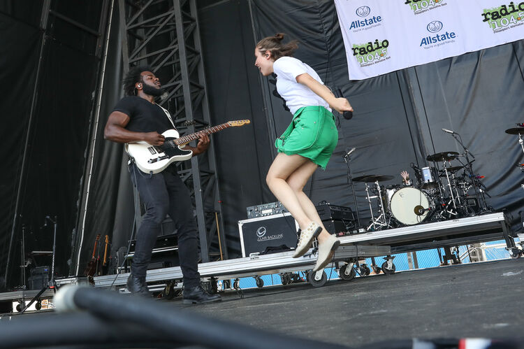 Alice Merton at our August 2018 Block Party