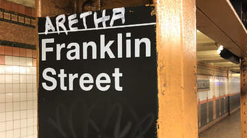 Local News - Makeshift Aretha Franklin Tribute Appears at Manhattan Subway Stop