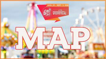 KDWB at Minnesota State Fair - We've MOVED! Where To Find KDWB At The State Fair