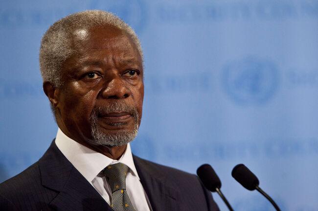 Former UN Secretary General Kofi Annan dies