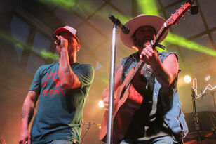 LOCASH Performing At Hot Country Nights