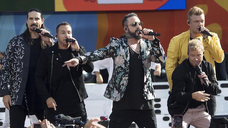 Backstreet Boys Cancel Oklahoma Concert After Storm Leaves 14 Injured