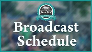 Cities 97 at the Minnesota State Fair - Cities 97.1 State Fair Broadcast Schedule - 2018
