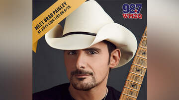 WMZQ Country News - WMZQ Has Your Chance To Meet Brad Paisley At Jiffy Lube Live