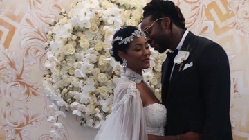 CJ the DJ - 2 Chainz star studded wedding (PICS & VIDS)