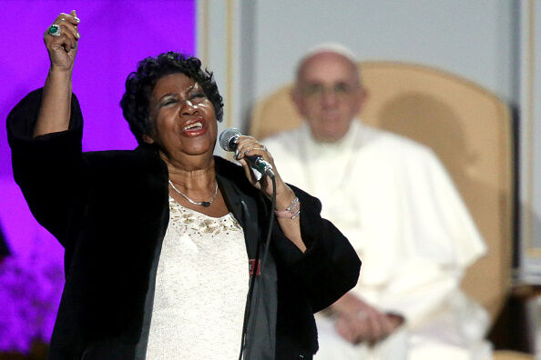 Final arrangements for Ms. Aretha Franklin.