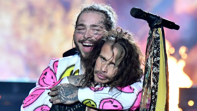 Aerosmith & Post Malone Bring Down The House At 2018 MTV