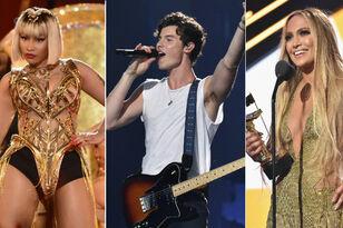 2018 VMAs: Nicki Minaj Owns The Night, Shawn Mendes Makes It Rain & More