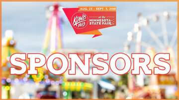 KDWB at Minnesota State Fair - Our 2018 Sponsors