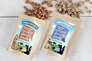 Ben & Jerry's Is Unleashing Bags Of Cookie Dough Chunks