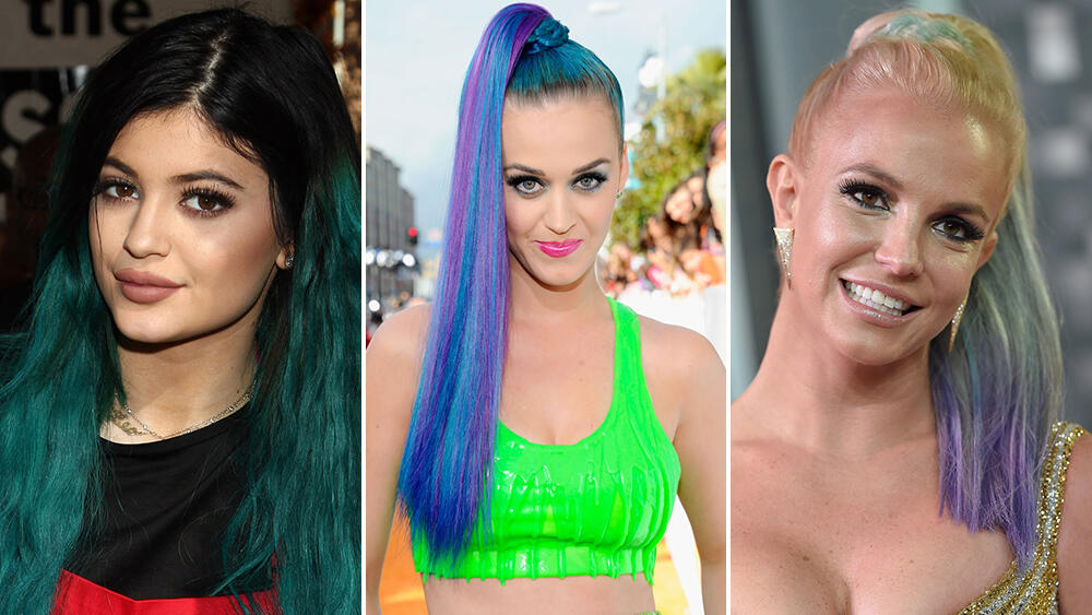 25 Celebs Who Have Rocked Hair Every Color Of The Rainbow Iheartradio