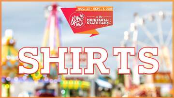 KDWB at Minnesota State Fair - The 2018 KDWB State Fair T-Shirts!