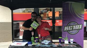 Photos - Perez and KC101 at Family Dollar in New Haven