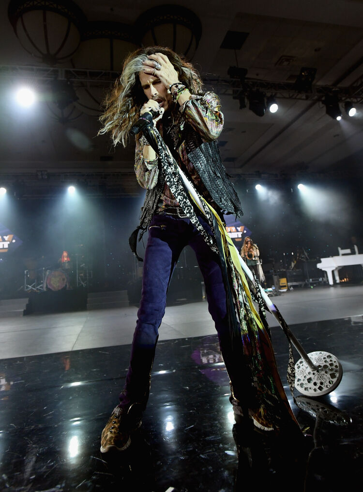 Steven Tyler, March 2018, Emma McIntyre/Getty Images