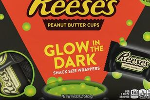 Reese's Is Releasing Glow In The Dark Snack Size Wrappers