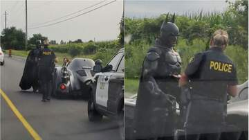Mountain Man Jay - Viral Video Captures Hilarious Moment 'Batman' Was Pulled Over By Police