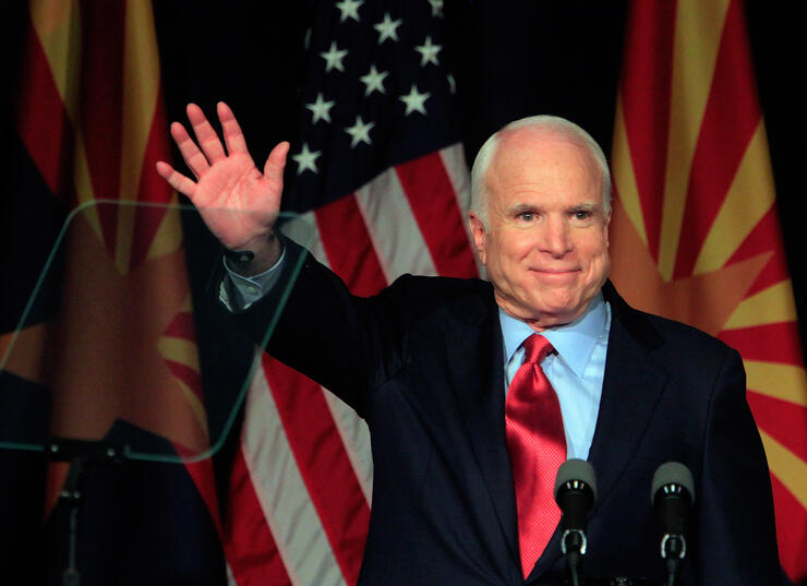 John McCain is discontinuing treatment for brain cancer family says