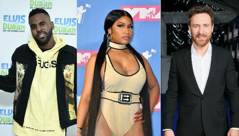 Jason Derulo Links Up With David Guetta, Nicki Minaj & More For 'Goodbye'