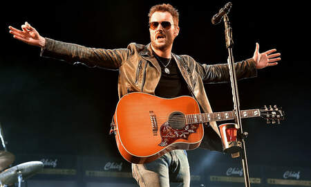 Music News - Eric Church Sets Attendance Record At Nashville's Nissan Stadium