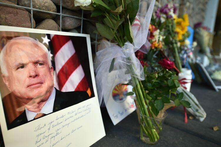 John McCain Getty Images