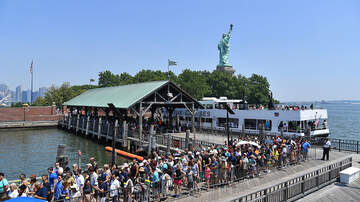 image for Liberty Island Evacuated After Propane Tanks Catch Fire