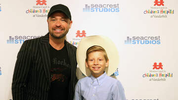 Photos - Mason Ramsey And Cody Alan Broadcast from Nashville's Seacrest Studios