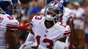 THE MARK and RICH SHOW - WATCH: Odell Beckham Jr. reacts to record contract