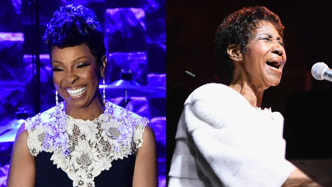 Gladys Knight and Aretha Franklin