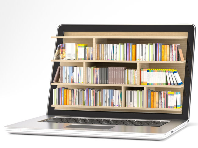 Books in Computer Getty RF
