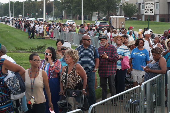 People came from all across the country to pay their respects to Aretha Franklin.
