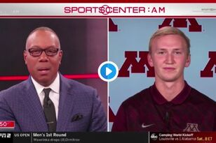 Gophers QB Zach Annexstad featured on SportsCenter [VIDEO] | KFAN 100.3 FM