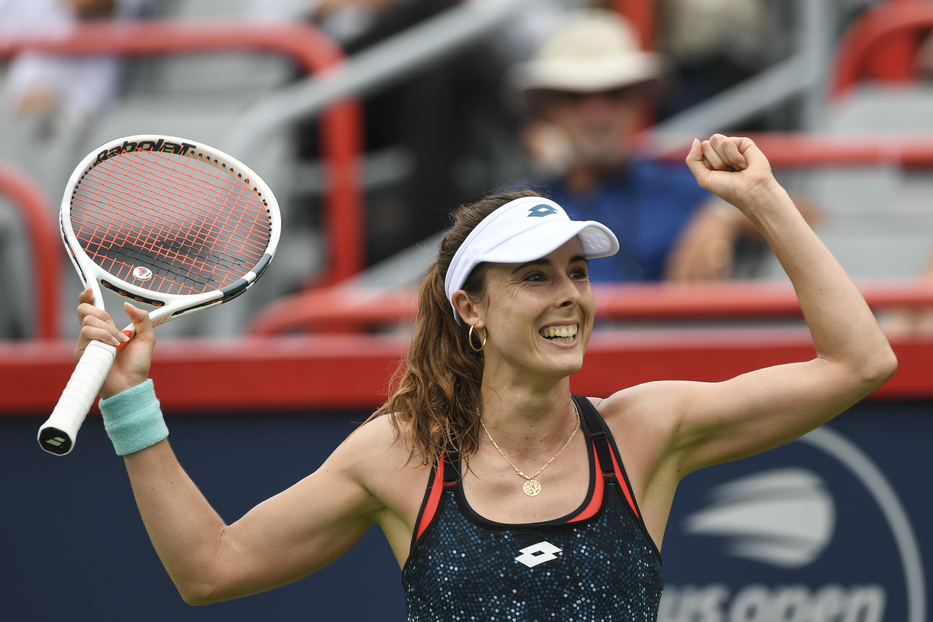 Female Tennis Player Penalized For Fixing Her Shirt During -8671