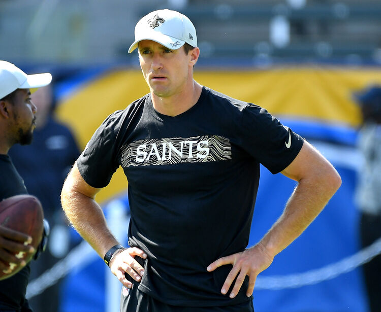 Drew Brees Getty Images